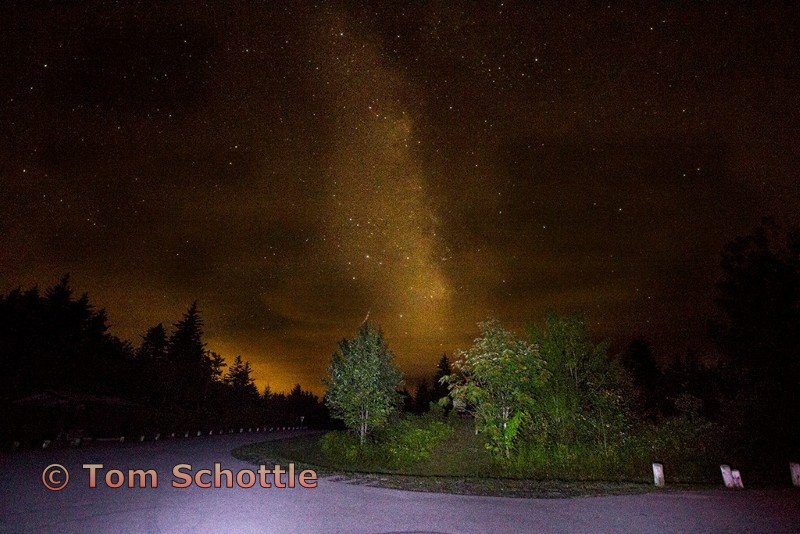 Milky Way at Cranberry