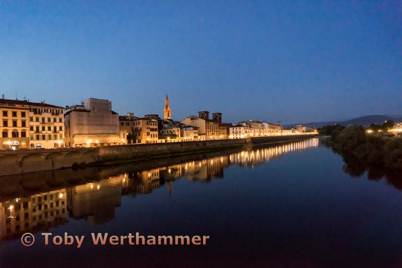 """Arno River at Night"""