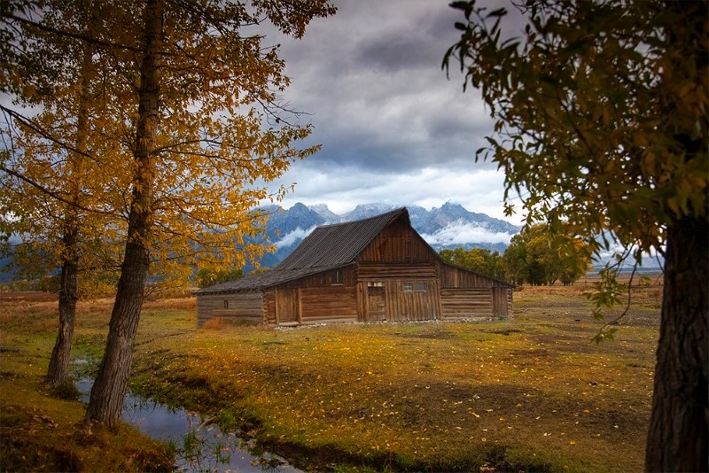 cabin-in-wyoming