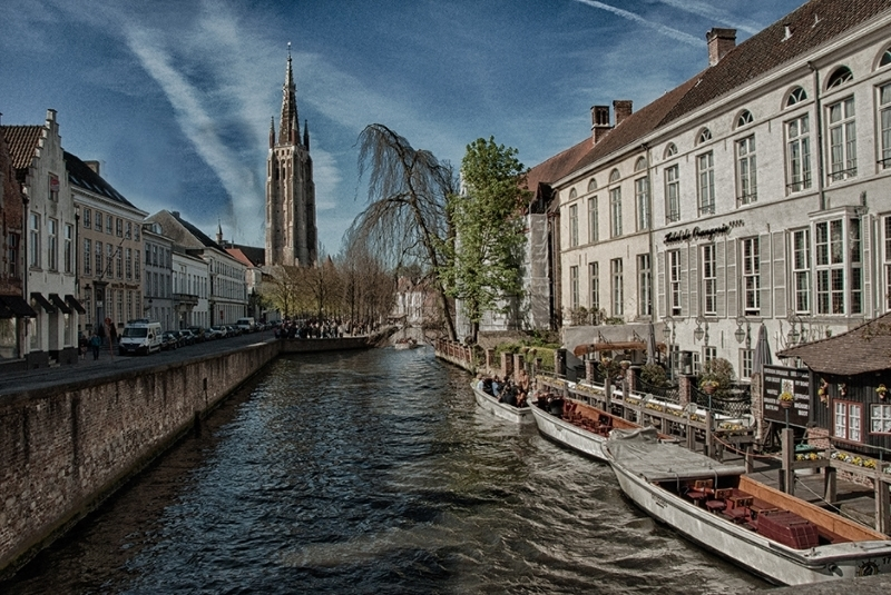 On the Canal in Bruges
