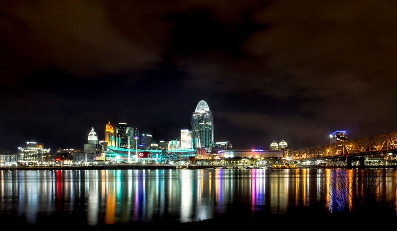 Queen City At Night