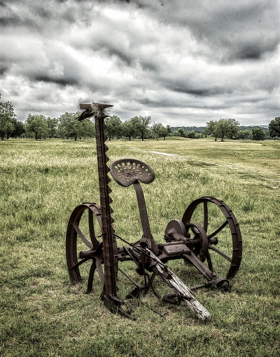 Antique Farm Equipment