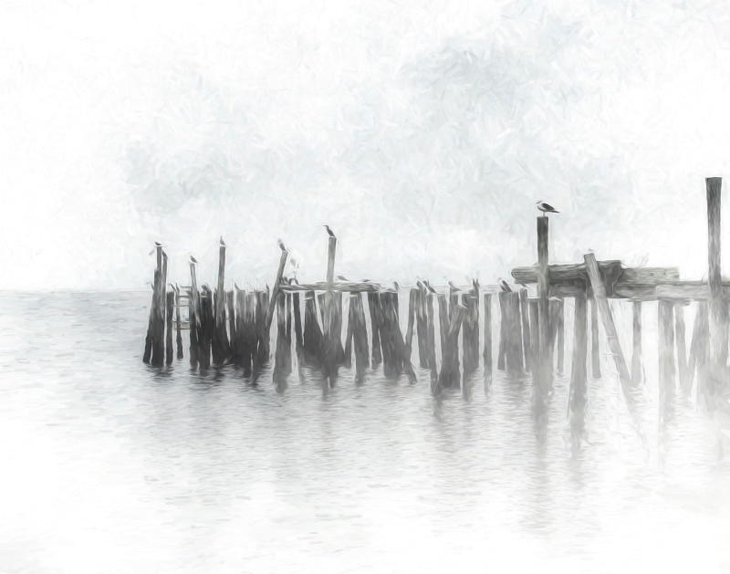 Foggy Morning at the Pier