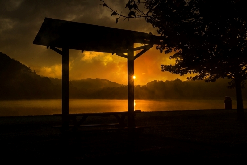 Sunrise at Barboursville Park