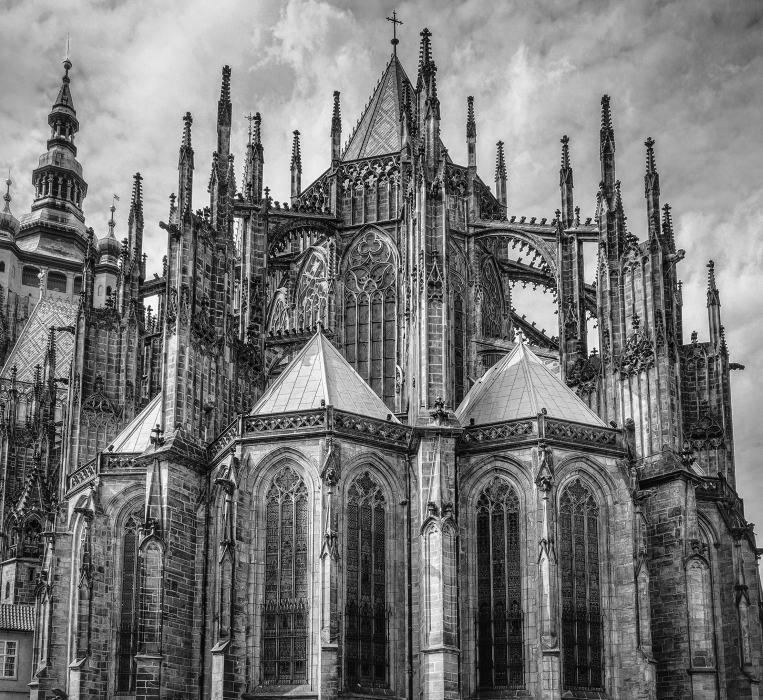 Flying Buttresses of St. Vitus Cathedral