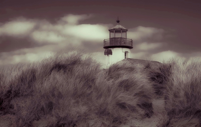 Coquille River Light Sepia