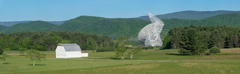 Byrd Telescope Pano