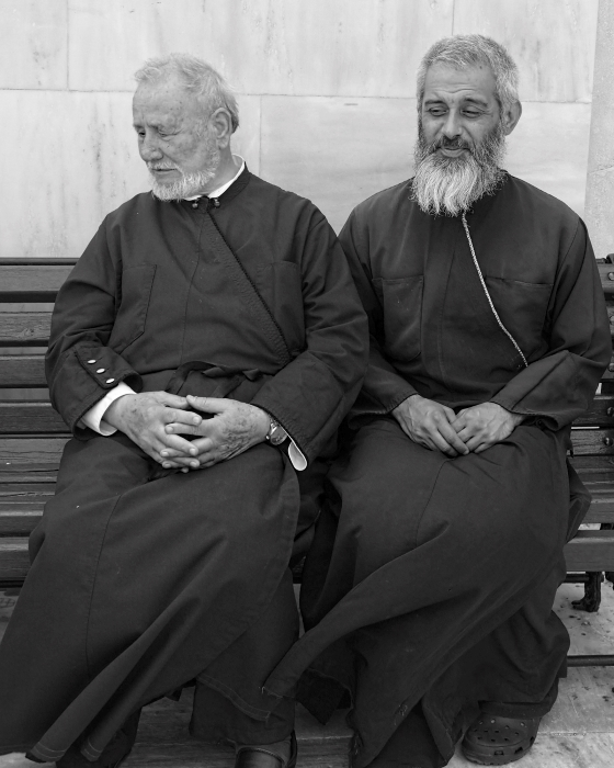 Greek Monks