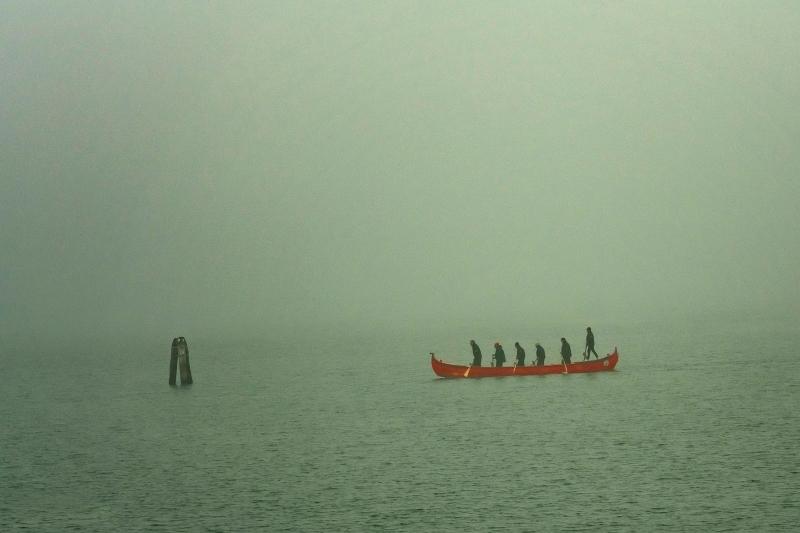 Early Morning Fog in Venice