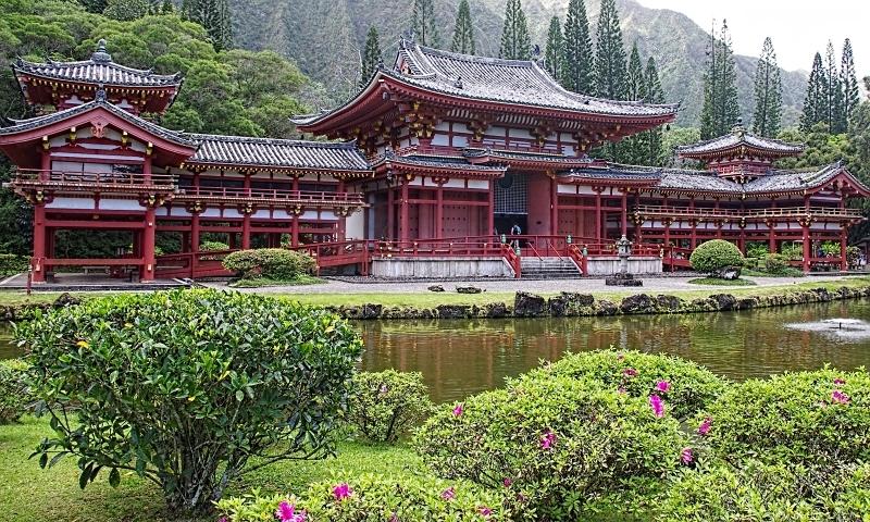 Buddhist Temple on Oahu