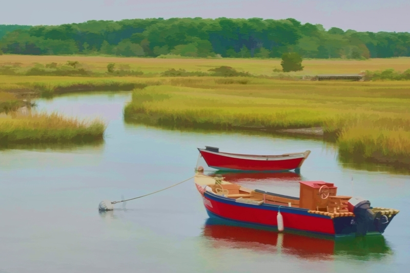 Red Boats Cape Cod