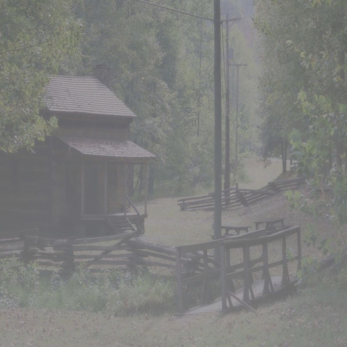 Cabin in Fog