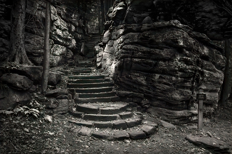 Cuyahoga Rock Stairs