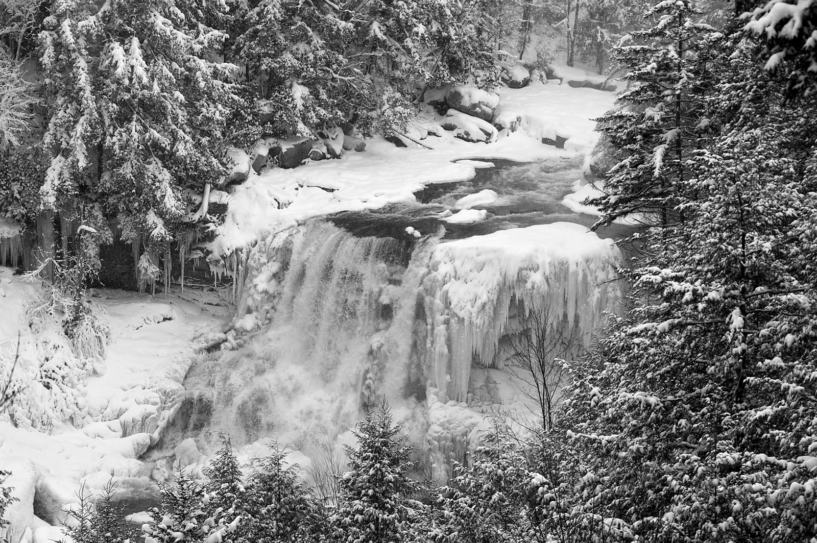 Blackwater Falls Winter