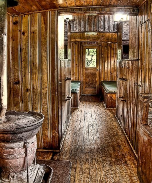 Cass Railroad Antique Caboose