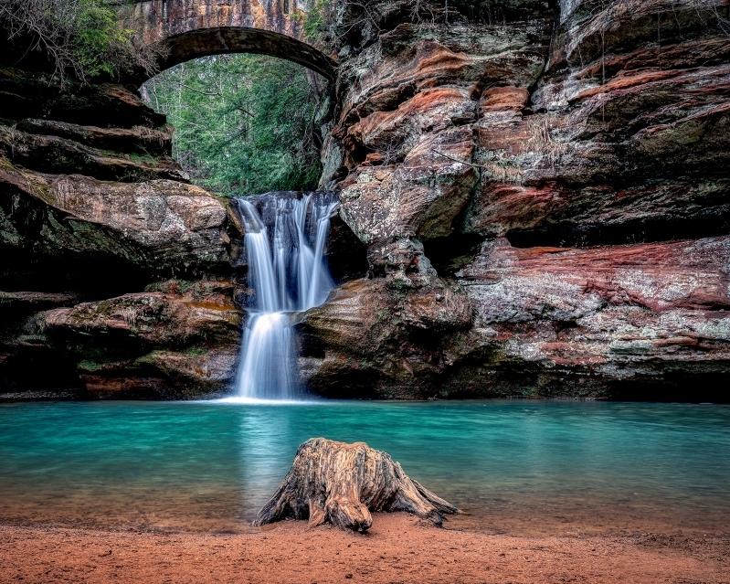 Springtime Falls