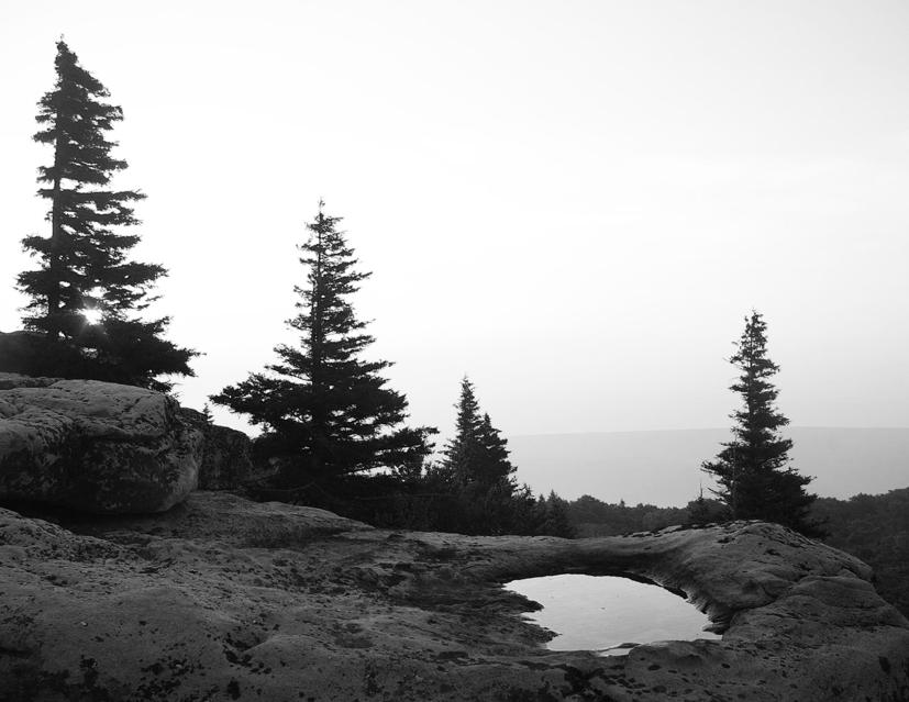 Sunrise at Bear Rocks