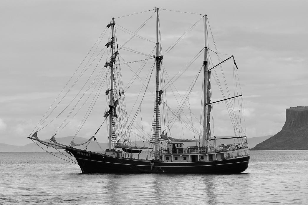 Port call, at anchor